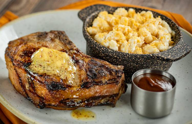 Steakhouse 71 at Disney's Contemporary Resort - steak and mac-n-cheese