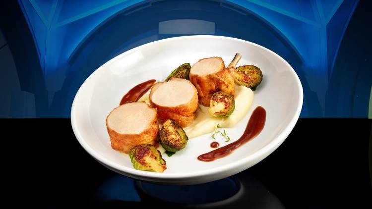 Space 220 at EPCOT - Chicken Roulade