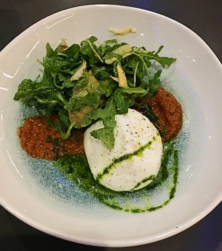 Space 220 Restaurant Opens at EPCOT - Big Bang Burrata