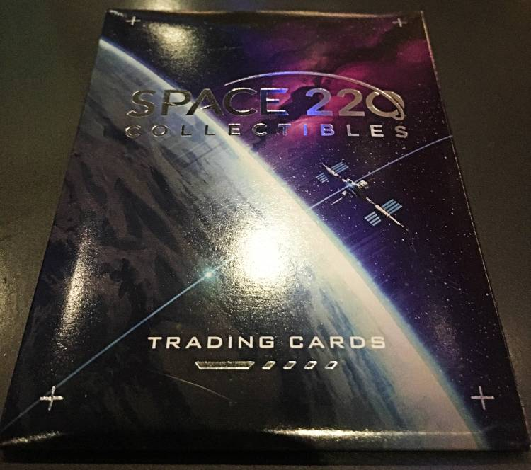 Space 220 at EPCOT - trading card pack