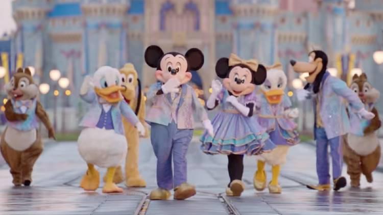 Walt Disney World's 50th Anniversary - characters