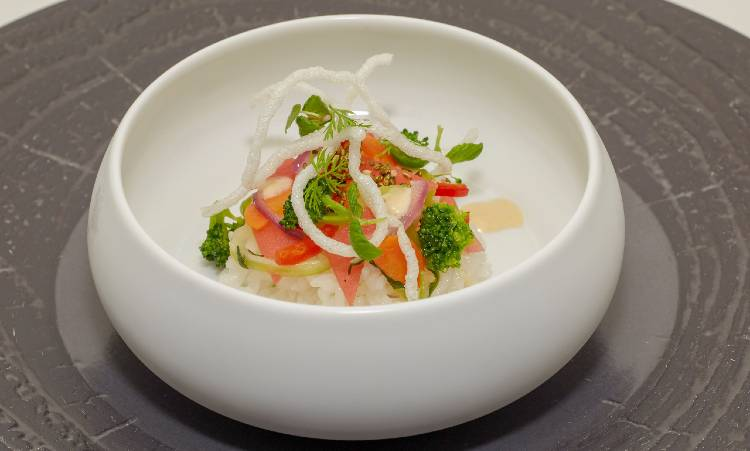 Swan and Dolphin Food & Wine Classic -  Cabana's Vegetarian rice bowl