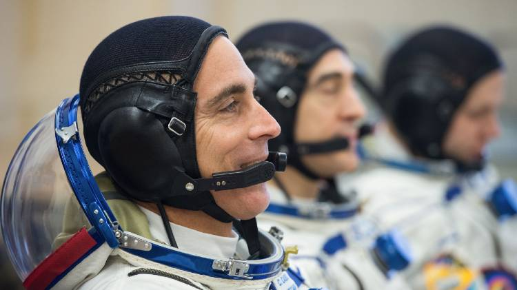 Disney+ - Among the Stars - NASA astronaut Chris Cassidy and two Russian cosmonauts.