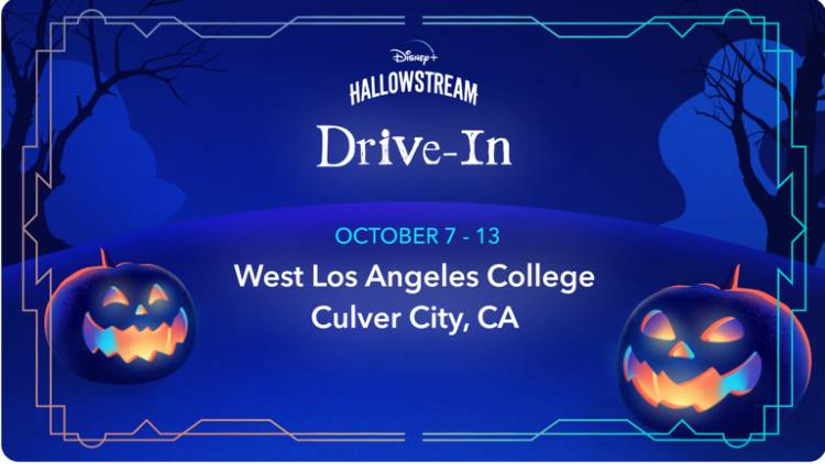 Disney+ to Host Hallowstream Drive-In Screening Series Oct 7-13 in Los Angeles
