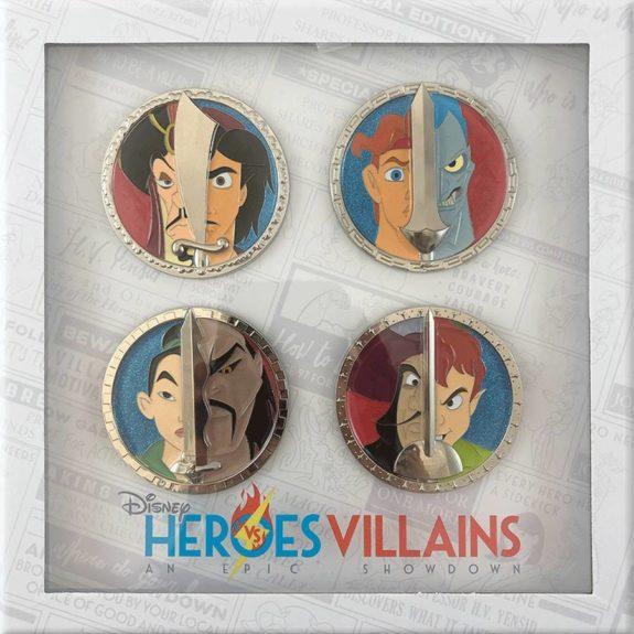 Disney Heroes vs. Villains Digital Pin Experience