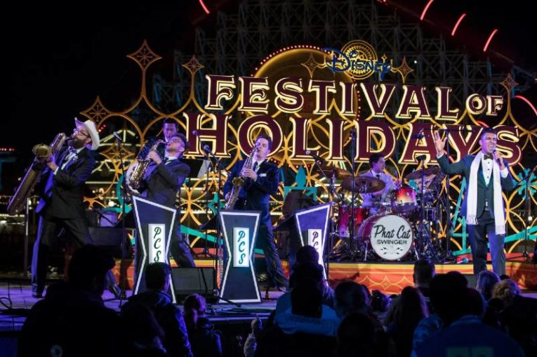 Disneyland Celebrates the Holidays - Festival of Holidays - Phat Cat Swinger