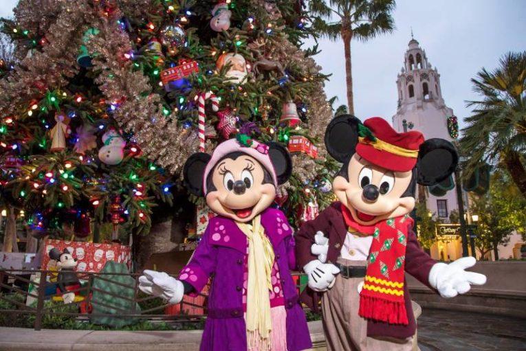 Disneyland Celebrates the Holidays - Mickey and Minnie