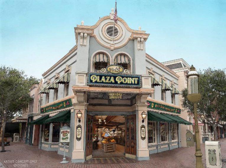 Disneyland Celebrates the Holidays - Plaza Point