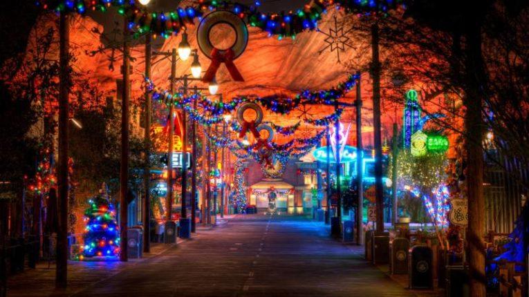 Disneyland Celebrates the Holidays - Radiator Springs