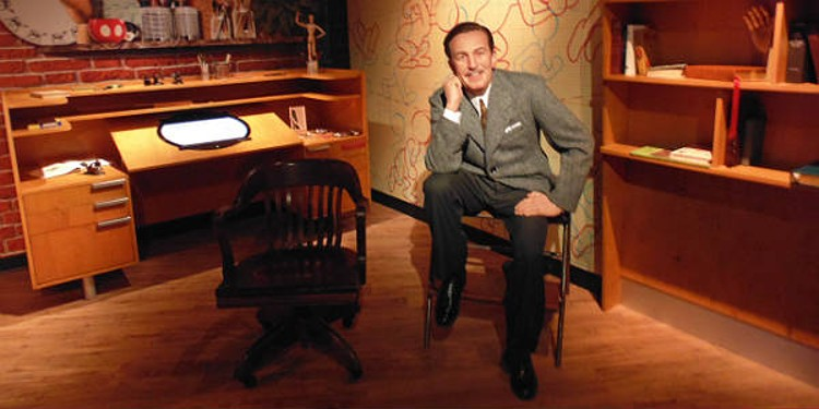 Walt Disney wax figure at Madam Tussauds Orlando