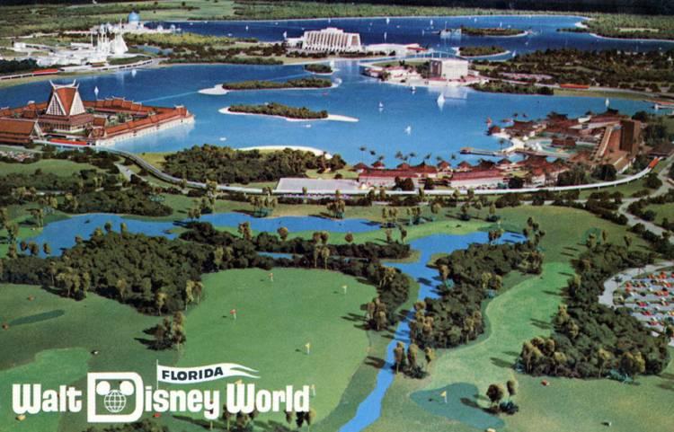Walt Disney World 1988 postcard