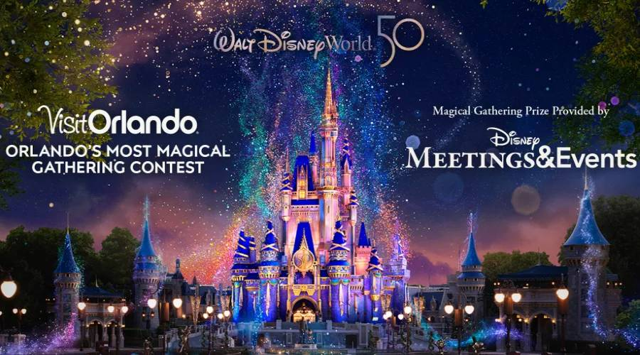 Visit Orlando Giving Away a Family and Friends Walt Disney World Vacation for 50