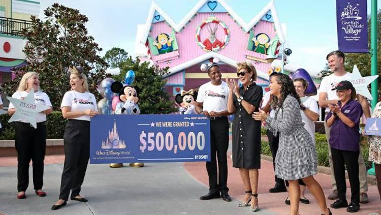 Walt Disney World giving grant to GKTW